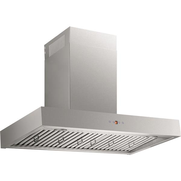 Maxair 36-in Ducted Wall-Mounted Chimney Wall Hood