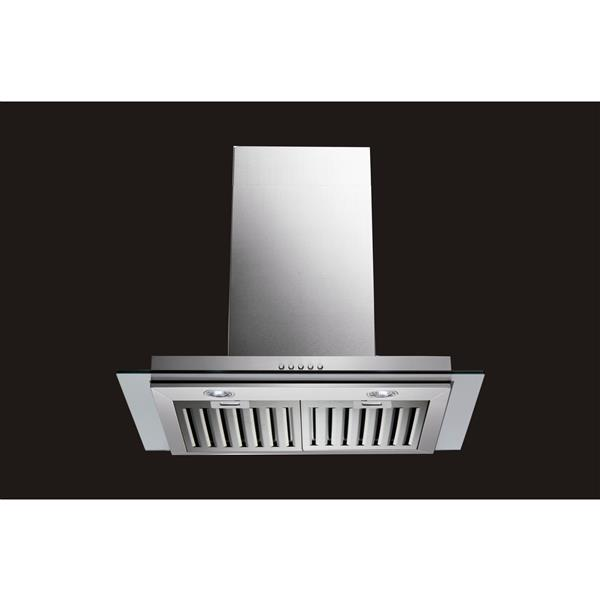 Maxair 36-in Wall-Mounted Range Hood (Stainless Steel)