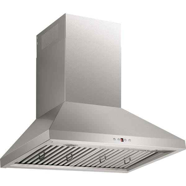 Maxair 30-in Ducted Wall-Mounted Chimney Wall Hood