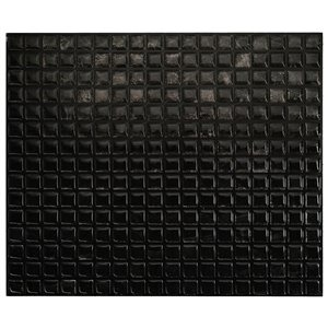 Smart Tiles Minimo Nero 9-in x 11-in Black Adhesive Smart Tiles Wall (4-Pack)