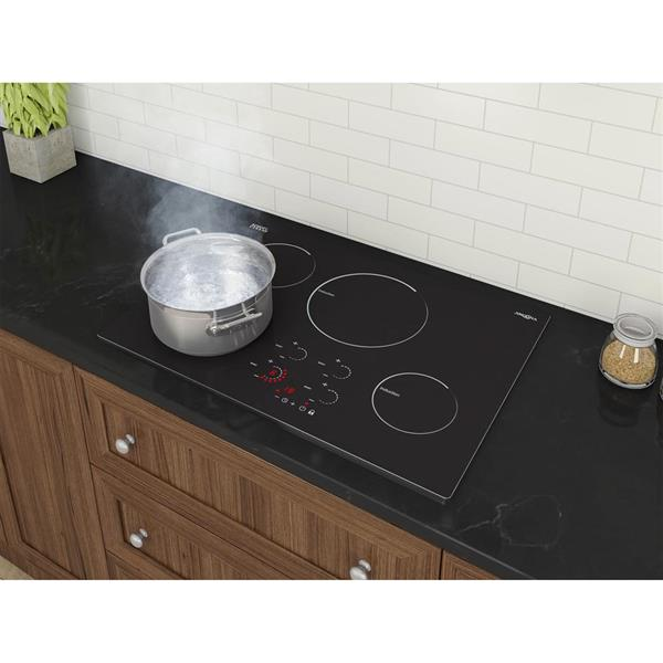 """Surface de cuisson à induction Ancona Radiant, 30"""", noir"""