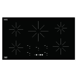 Ancona Chef 36-in 5-Burner Black Induction Cook Top