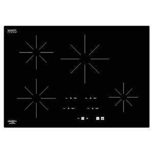 Ancona Chef 29.59-in 4-Burner Black Induction Cook Top