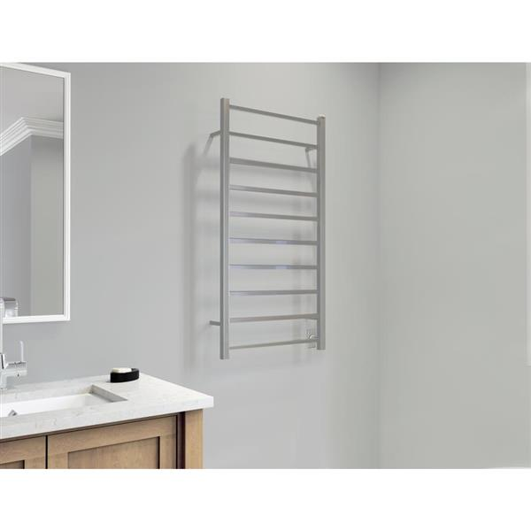 Ancona Gala Stainless Steel 10-Bar Dual XL Towel Warmer