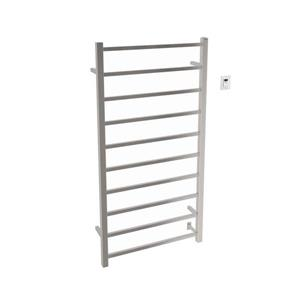 Ancona Gala Stainless Steel 10-Bar Dual XL Towel Warmer with Timer
