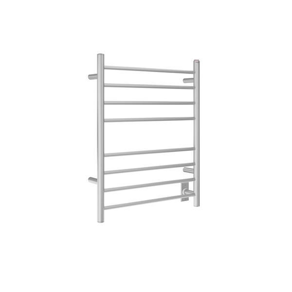 Ancona Prestige Brushed Stainless Steel 8-Bar Dual Towel Warmer