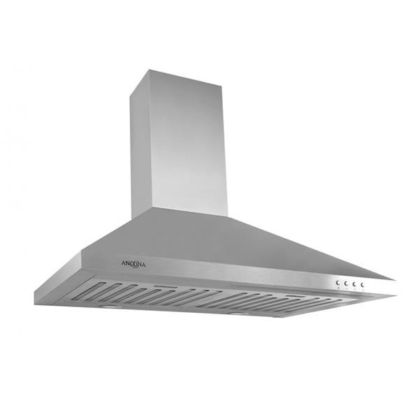 Ancona WPL430 30-in Stainless Steel Wall-Mounted Range Hood