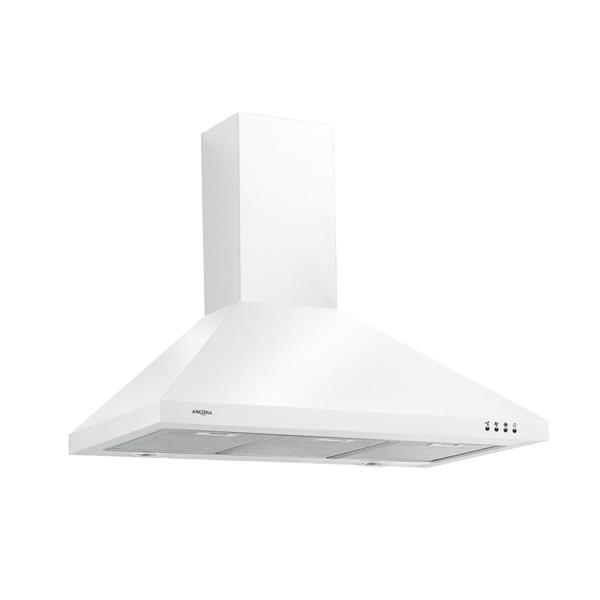 Ancona 36-in Wall-Mounted Range Hood (White)