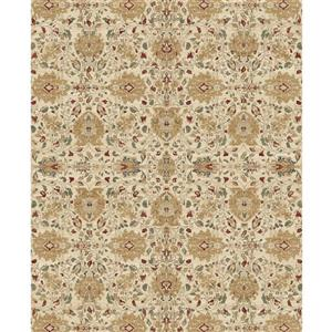 Ruggable 8' x 10' Traditional Cream Indoor/Outdoor Area Rug
