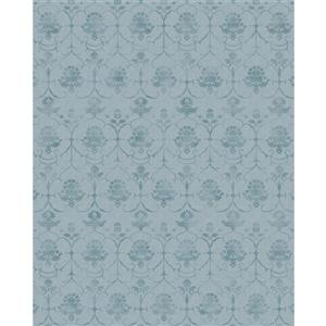 Ruggable Leyla 8-ft x 10-ft Blue Indoor/Outdoor Area Rug