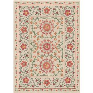 Ruggable Suzi 5-ft x 7-ft Coral Indoor/Outdoor Area Rug