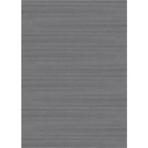Tapis  texturé solide, gris