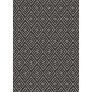 Tapis Prisme de Ruggable, 5'x7', Noir