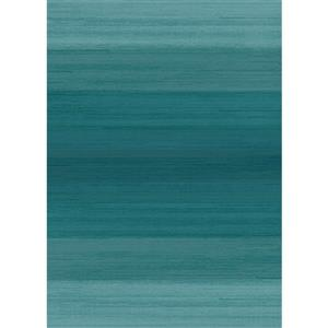 Ruggable Ombre 5-ft x 7-ft Blue Indoor/Outdoor Area Rug