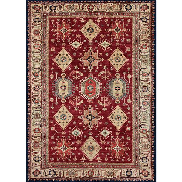 Ruggable Noor 5-ft x 7-ft Ruby Indoor/Outdoor Area Rug
