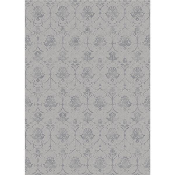 Ruggable Leyla 5-ft x 7-ft Grey Indoor/Outdoor Area Rug