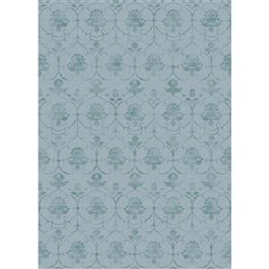 Ruggable Leyla 5' x 7' Blue Indoor/Outdoor Area Rug