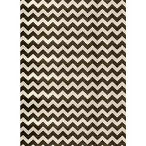 Ruggable 5' x 7' Cheron Black/White Area Rug