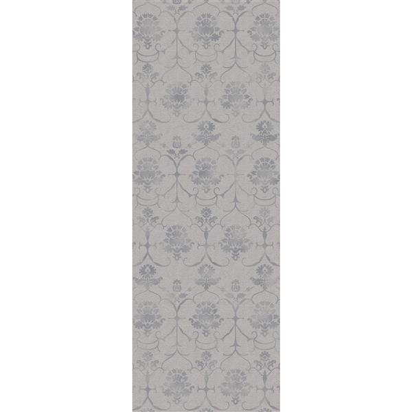 Ruggable Leyla 2-ft 6-in x 7-ft Grey Indoor/Outdoor Area Rug Runner