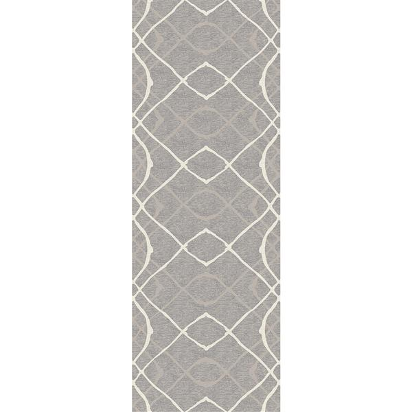 Ruggable Amara 2.5-ft x 7-ft Grey Indoor/Outdoor Area Rug