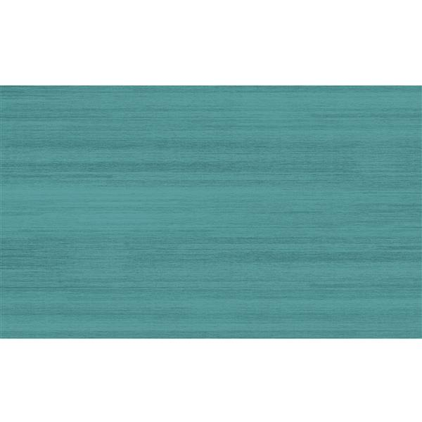 Ruggable Soild Textured 3-ft x 5-ft Ocean Blue Area Rug