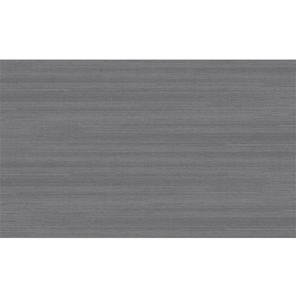 Ruggable Solid Textured 3-ft x 5-ft Grey Area Rug