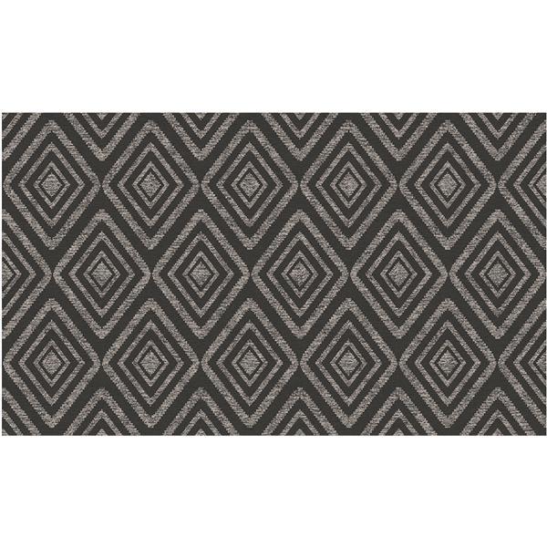 Tapis Tissé Prisme de Ruggable, 3'x5', Noir