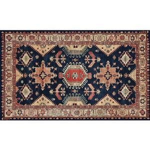 Ruggable Noor 3-ft x 5-ft Sapphire Indoor/Outdoor Area Rug