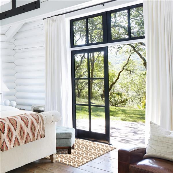 Ruggable 3-ft x 5-ft Tan Modern Indoor/Outdoor Area Rug