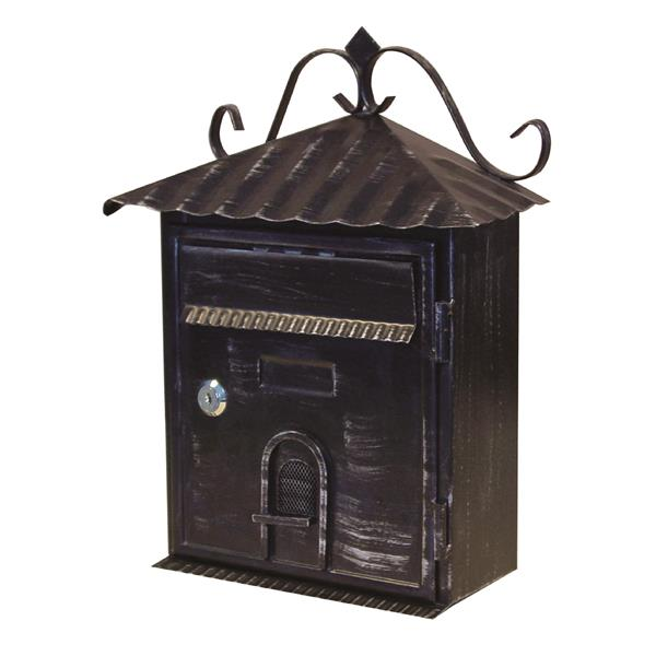 fine art lighting ltd  boites aux lettres avec serrure  noir sb08