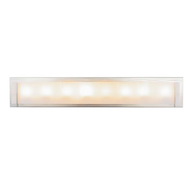 Levico Lighting Brina 8-Light Nickel 36-in Vanity Light
