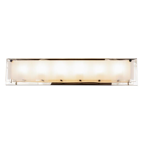 Levico Lighting Bree 6-Light 30-in Chrome Vanity Light