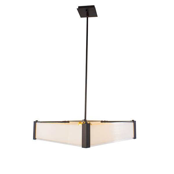 Levico Lighting Ltd Verona 20-In Oil Rubbed Bronze 3-Light Pendant Light