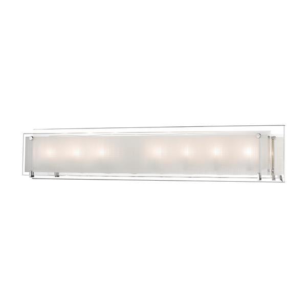 Levico Lighting Bree 8-Light 36-in Chrome Vanity Light
