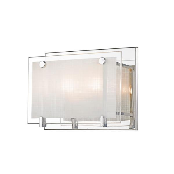 Levico Lighting Bree 2 Light 8-in Chrome Wall Sconce