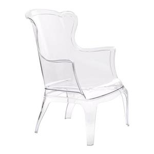 Vision Arm Chair - Polycarbonate - Clear