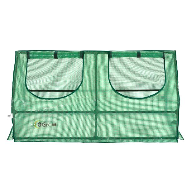 O-Grow Green compact Polycarbonate Outdoor Seed Starter Greenhouse