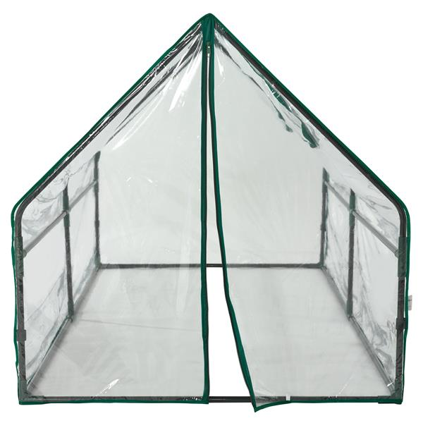 O-Grow Ultra Deluxe 36-in x 71-in Clear Compact Outdoor Greenhouse
