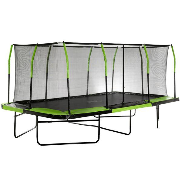 Upper Bounce 10-ft x 17-ft Rectangular Mega Trampoline