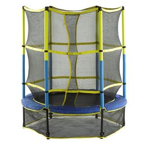 Upper Bounce 55-in Kid-Friendly Trampoline and Enclosure Set