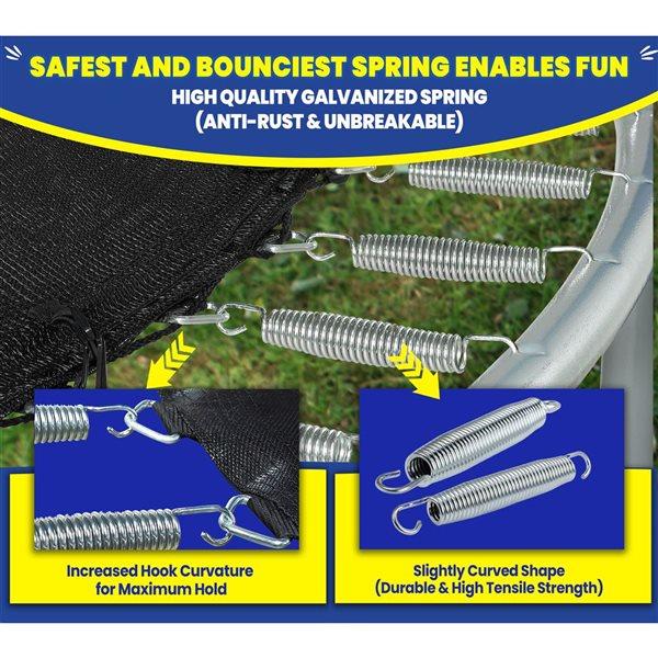 Trampoline et coffret Upper Bounce(MD), 10'