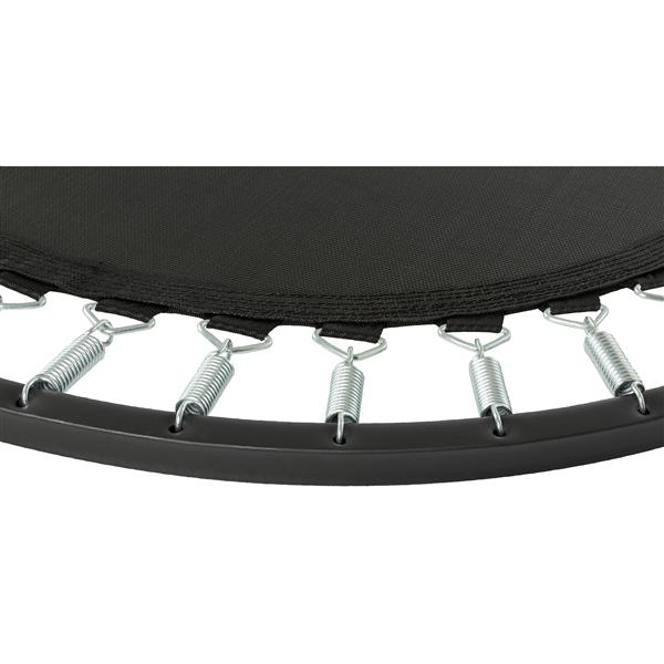 Upper Bounce 40-in Foldable Rebounder Trampoline with Handrail