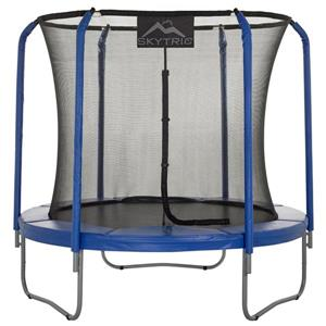 Upper Bounce 8-ft Skytric Trampoline with Top Ring Enclosure System