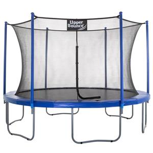 Upper Bounce® 12-ft Trampoline and Enclosure Set