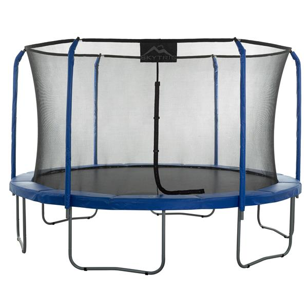 Upper Bounce 11-ft Skytric Trampoline with Top Ring Enclosure System
