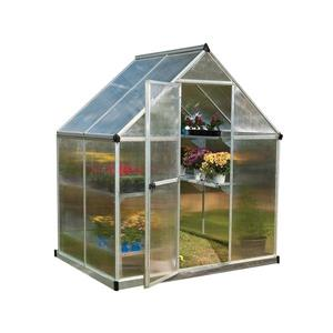 Mythos Greenhouse - 6 ' x 4 '- Silver