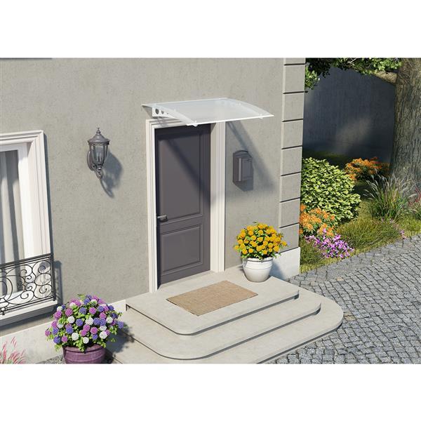 Auvent de porte et fenêtres Lyra 1350, 4.5' x 3'