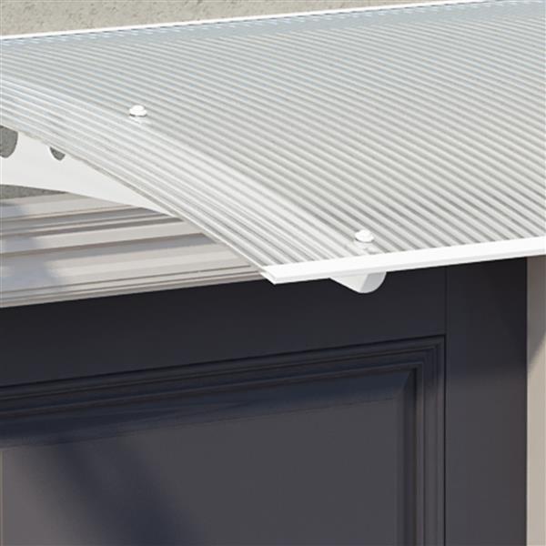 Palram Lyra 1350 Window and Door Cover - Metal - 4.5' x 3'