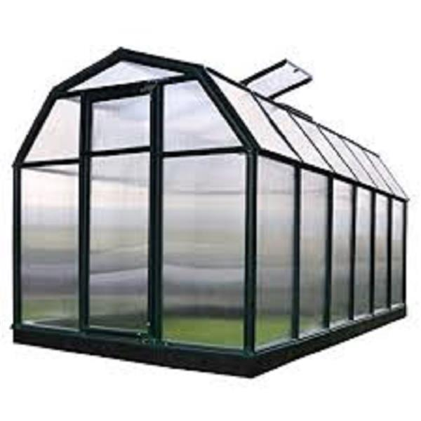 Rion Green Plastic 6-ft x 12-ft Eco Grow Polycarbonate