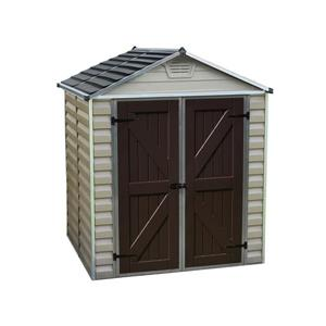 Storage Shed - 6' x 5' - Beige